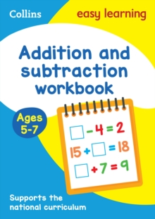 Addition and Subtraction Workbook Ages 5-7: New Edition, Paperback Book