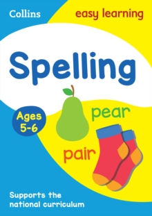 Spelling Ages 5-6: New Edition, Paperback / softback Book