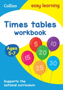 Times Tables Workbook Ages 5-7: New Edition, Paperback / softback Book