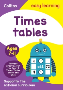 Times Tables Ages 7-11: New Edition, Paperback / softback Book