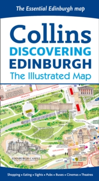 Discovering Edinburgh Illustrated Map, Sheet map, folded Book