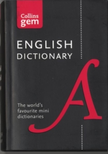 Collins English Dictionary Gem Edition : 85,000 Words in a Mini Format, Paperback Book