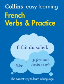 Easy Learning French Verbs and Practice, Paperback Book