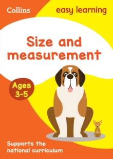 Size and Measurement Ages 3-5: New Edition, Paperback Book