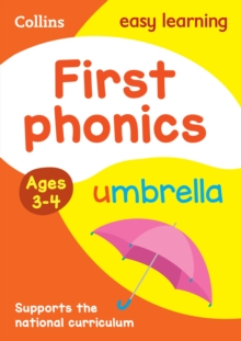 First Phonics Ages 3-4, Paperback Book