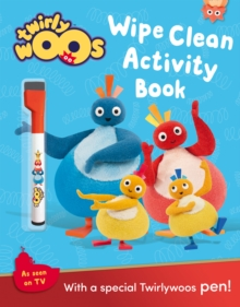 Wipe Clean Activity Book, Paperback Book