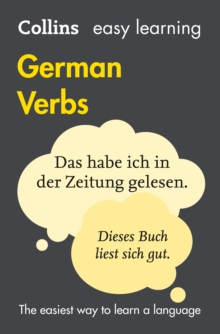 Easy Learning German Verbs, Paperback Book