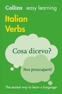 Easy Learning Italian Verbs, Paperback Book