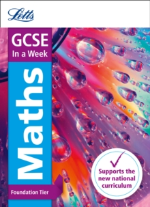 GCSE 9-1 Maths Foundation In a Week, Paperback Book