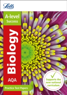 AQA A-level Biology Practice Test Papers, Paperback / softback Book