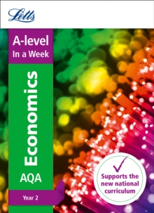 A -level Economics Year 2 In a Week, Paperback Book