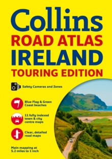 Collins Ireland Road Atlas : Touring Edition, Paperback Book