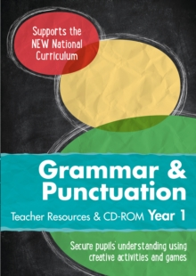 Year 1 Grammar and Punctuation Teacher Resources with CD-ROM : English KS1, Spiral bound Book