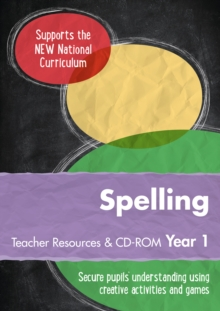 Year 1 Spelling Teacher Resources with CD-ROM : English KS1, Spiral bound Book