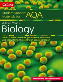 AQA A Level Biology Year 2 Topics 7 and 8, Paperback Book