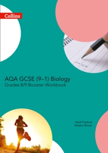 AQA GCSE Biology 9-1 Grade 8/9 Booster Workbook, Paperback / softback Book