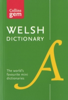 Collins Welsh Gem Dictionary : The World's Favourite Mini Dictionary, Paperback / softback Book