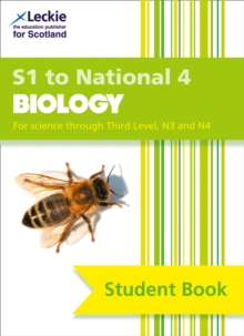 Secondary Biology: S1 to National 4 Student Book, Paperback / softback Book