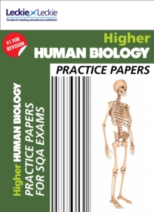 CfE Higher Human Biology Practice Papers for SQA Exams, Paperback / softback Book
