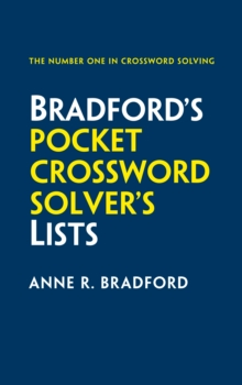 Collins Bradford's Pocket Crossword Solver's Lists : 75,000 Solutions in 500 Subject Lists, Paperback Book