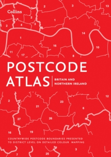 Postcode Atlas of Britain and Northern Ireland, Hardback Book