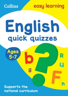 English Quick Quizzes Ages 5-7, Paperback / softback Book