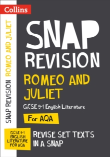 Romeo and Juliet: AQA GCSE English Literature Text Guide, Paperback Book