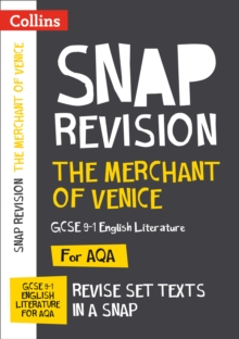 The Merchant of Venice: New Grade 9-1 GCSE English Literature AQA Text Guide, Paperback / softback Book