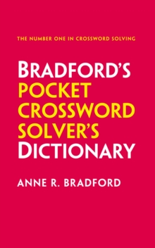 Collins Bradford's Pocket Crossword Solver's Dictionary : Over 125,000 Solutions in an A-Z Format, Paperback Book