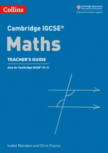 Cambridge IGCSE (R) Maths Teacher's Guide, Paperback Book