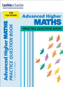 Advanced Higher Maths Practice Question Book, Paperback Book