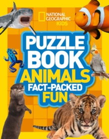 Puzzle Book Animals : Brain-Tickling Quizzes, Sudokus, Crosswords and Wordsearches, Paperback Book