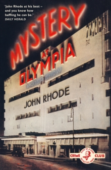 Mystery at Olympia, Paperback / softback Book