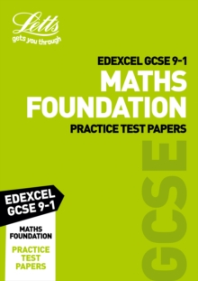 Edexcel GCSE Maths Foundation Practice Test Papers, Paperback Book