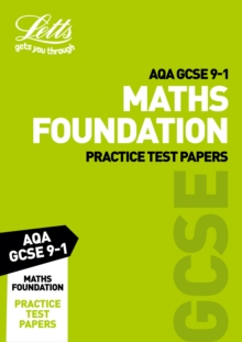 AQA GCSE 9-1 Maths Foundation Practice Test Papers, Paperback Book
