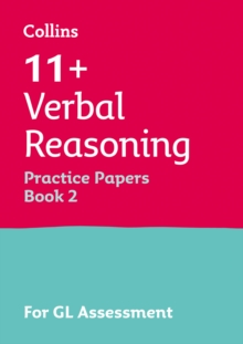 11+ Verbal Reasoning Practice Test Papers - Multiple-Choice: for the GL Assessment Tests : Book 2, Paperback Book