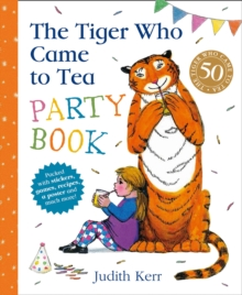 The Tiger Who Came To Tea Party Book, Spiral bound Book