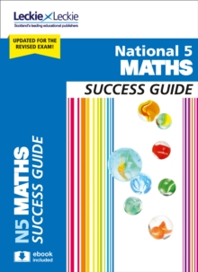 National 5 Maths Success Guide, Paperback Book