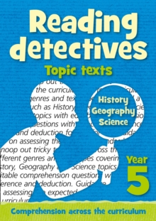 Year 5 Reading Detectives: topic texts with free download : Teacher Resources, Paperback Book