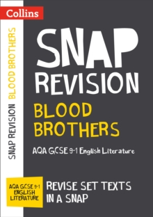 Blood Brothers: New Grade 9-1 New GCSE Grade English Literature AQA Text Guide, Paperback / softback Book