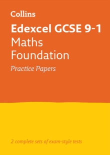 GCSE Combined Maths Foundation Edexcel Practice Test Papers : GCSE Grade 9-1, Paperback / softback Book