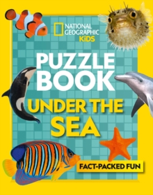 Puzzle Book Under the Sea : Brain-Tickling Quizzes, Sudokus, Crosswords and Wordsearches, Paperback / softback Book
