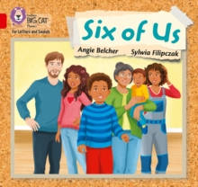 Six of us : Band 02a/Red a, Paperback / softback Book