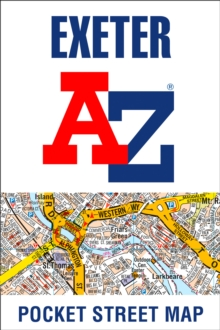 Exeter A-Z Pocket Street Map, Sheet map, folded Book