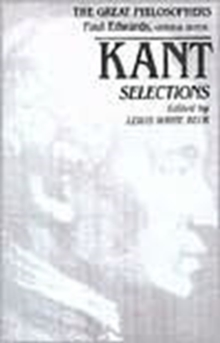 Kant Selections, Paperback / softback Book