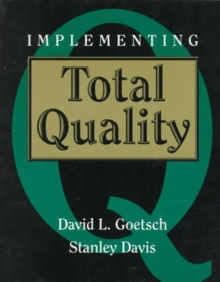 Implementing Total Quality, Paperback Book
