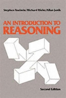 Introduction to Reasoning, Paperback Book