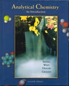 Analytical Chemistry : An Introduction, Hardback Book