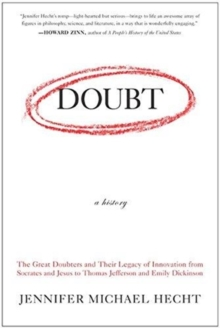 Doubt : A History, Paperback Book
