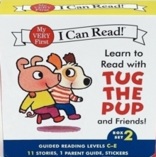 Learn to Read with Tug the Pup and Friends! Box Set 2 : Levels Included: C-E, Paperback Book
